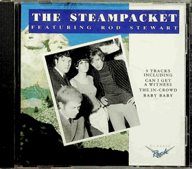 CD - The Steampacket - Featuring Rod Stewart