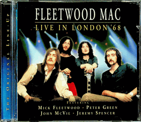 CD - Fleetwood Mac Live In London ´68