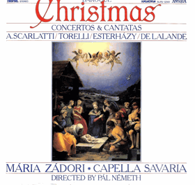 LP - Baroque Christmas - Mária Zádori - Capella Savaria