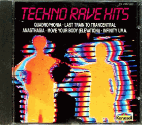 CD - Techno Rave Hits