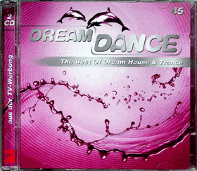2 CD - Dream Dance 45 - 1 CD chybí !