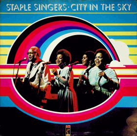 LP - Stample Singers - City In The Sky