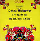 SP - Donna Hightower - If You Hold My Hand...